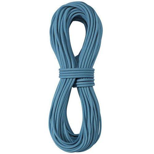 Edelrid Skimmer Pro Dry Lina wspinaczkowa 7,1mm 70m niebieski 2018 Liny połówkowe