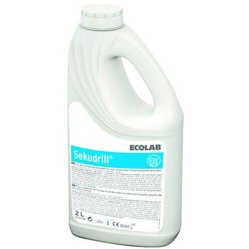 Ecolab Płyn do dezynfekcji i mycia narzędzi medycznych combi pack sekudrill 2 litry + 60 ml (4028163031095)