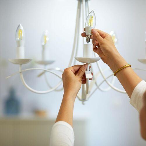 WiZ LED filament C35 E14 6,5W przezroczysta (8718699787196)
