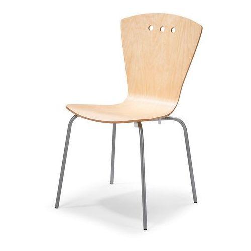 Krzesło Dallas brzoza aluminium, 13638