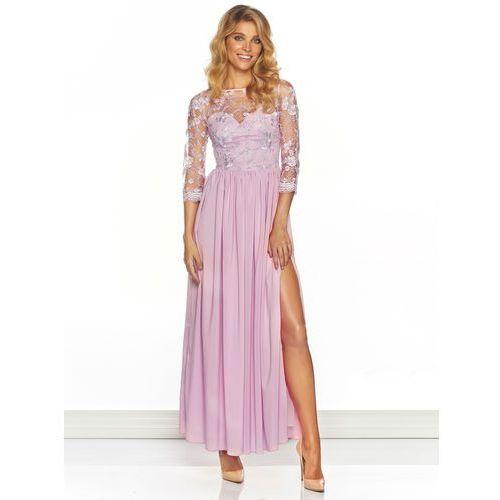 Sukienka arabella w kolorze różowym wyprodukowany przez Sugarfree.pl