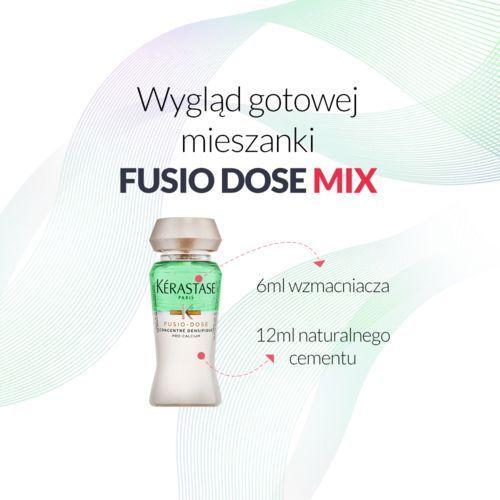 fusio dose mix - kuracja zagęszczająco-regenerująca - fusio dose densifique + booster reconstruction 12ml+6ml - gotowa mieszanka marki Kerastase