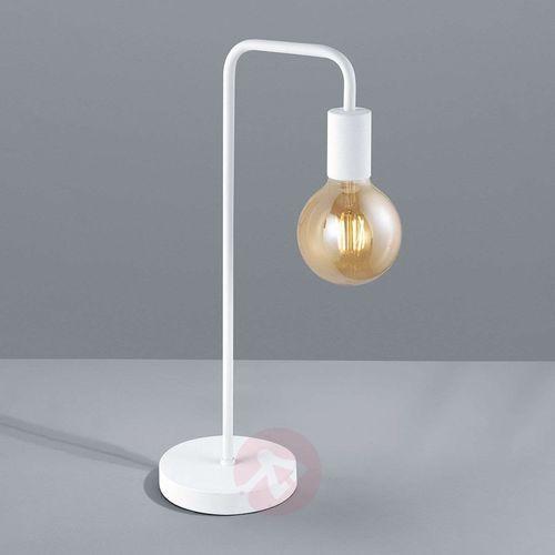 leuchten diallo lampa stołowa biały, 1-punktowy - nowoczesny - obszar wewnętrzny - diallo - czas dostawy: od 6-10 dni roboczych marki Trio