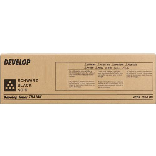Develop toner Black typ TN318, TN-318K, A0DK1D3, A0DK1D3
