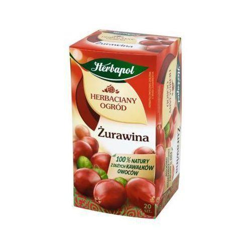 20x2,5g herbaciany ogród żurawina herbata owocowo-ziołowa marki Herbapol