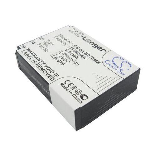 Kodak PIXPRO S1 / LB-070 1150mAh 8.51Wh Li-Ion 7.4V (Cameron Sino), CS-KLB070MX