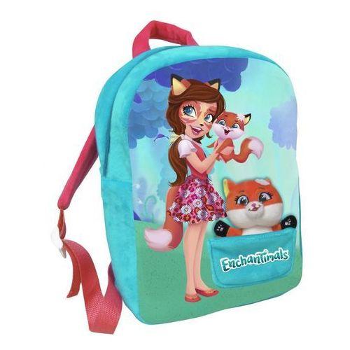 Plecak pluszowy z maskotką enchantimals marki Cyp brands