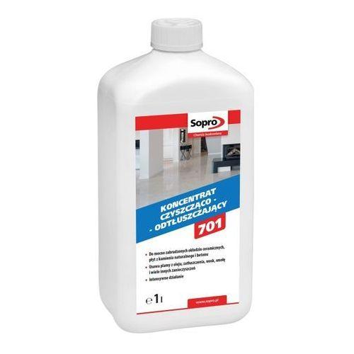 Koncentrat czyszcząco-odtłuszczający Sopro GR701 1 l (4005734701014)