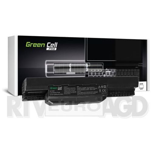 Green cell Bateria pro do asus k53 k53s x53 x53s x54 x54c 4 cell 14,4v