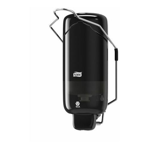 Dozownik Tork do mydła w płynie czarny z łokciownikiem 1 litr (7322540431018)