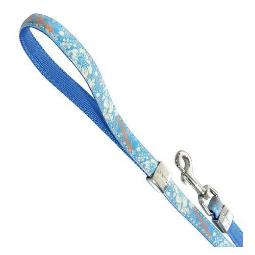 smycz envy hula reflect 15mm/120cm niebieska [466265bl] marki Zolux