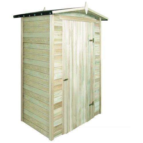 szopa ogrodowa, impregnowane drewno sosnowe, 150x100x210 cm marki Vidaxl