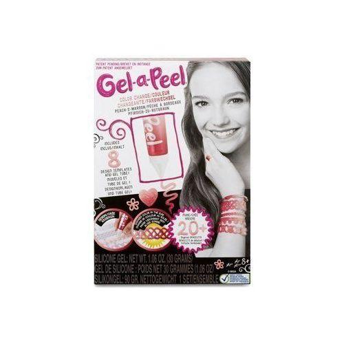 Gel-a-peel zestaw podstawowy color change z brzoskwiniowego na kasztanowy marki Mga