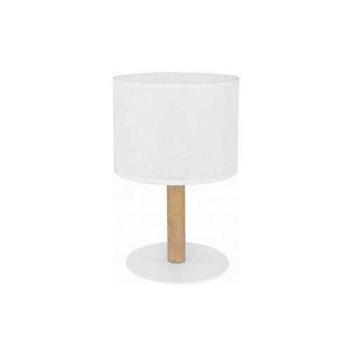 TK Lighting Deva White 5217 Lampa stołowa lampka 1x60W E27 biały/sosna (5901780552176)