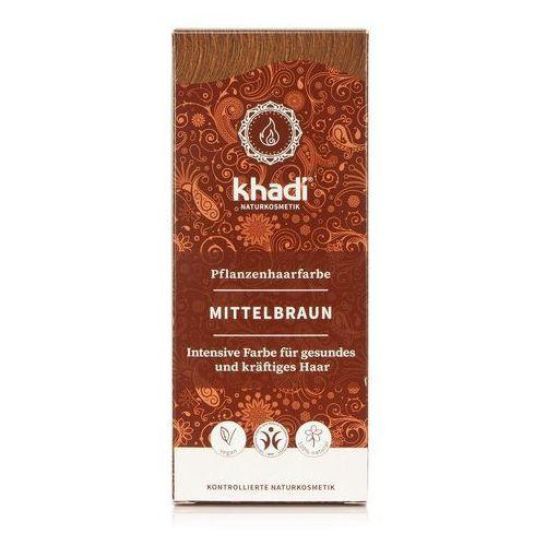 KHADI średni brąz henna do włosów 100g, KHA-130