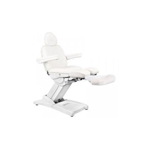 Vanity_a Fotel kosmetyczny elektr. azzurro 872s pedi-pro 3 siln. biały