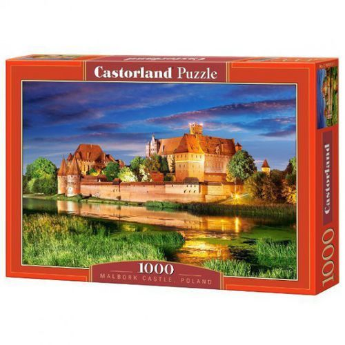 Puzzle 1000 Malbork Castle, Poland CASTOR