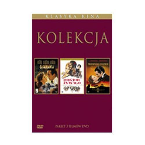 Galapagos films Złoty wiek kina. pakiet największe romanse wszech czasów (5xdvd) - michael curtiz, victor fleming, david lean