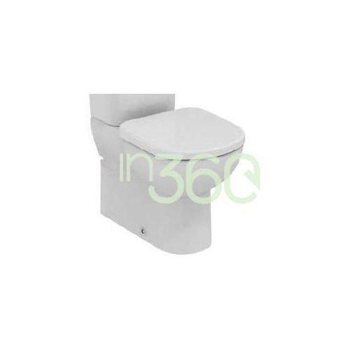 tempo miska wc kompaktowa krótka biały t328101 marki Ideal standard