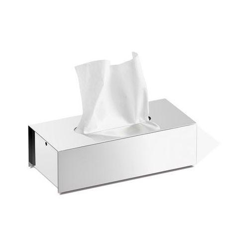 - pudełko na chusteczki higieniczne puro - stal nierdzewna polerowana marki Zack