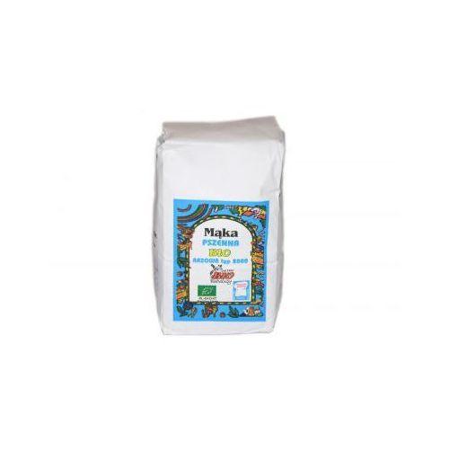 Mąka pszenna razowa bio typ 2000 1kg marki Bio babalscy