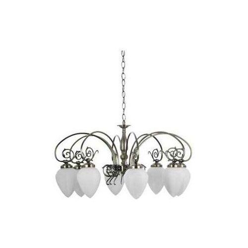 Lampa wisząca britop bossa 8 duży żyrandol patyna marki Britop lighting