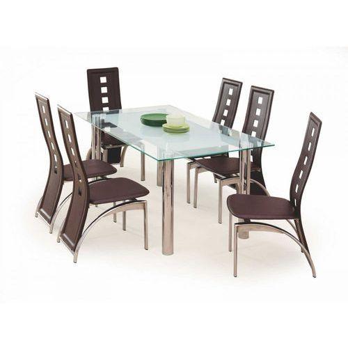 BOND stół bezbarwno/mleczny