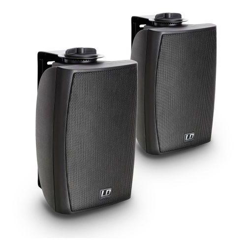 LD Systems Contractor CWMS 42 B 2-drożny 4″ głośnik naścienny, czarny (para)