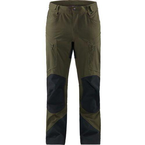 Haglöfs Rugged Mountain Spodnie długie Mężczyźni czarny/oliwkowy L 2019 Spodnie turystyczne (7318841156941)