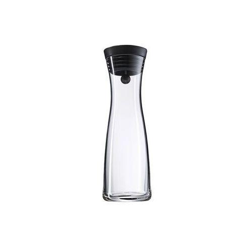 WMF Karafka szklana do wody BASIC 1 L z korkiem czarna