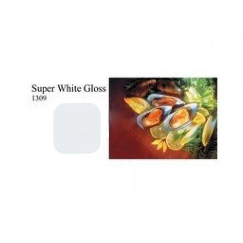 Fomei  colorgloss super white 1x1.3m tło plastikowe