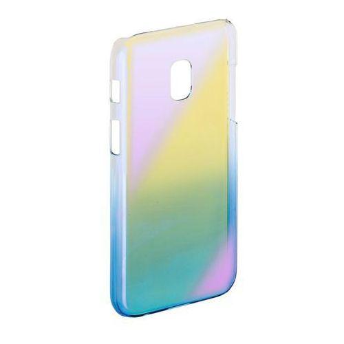 Etui HAMA Mirror do Samsung Galaxy J3 (2017) Żółto-niebieski (4047443358493)