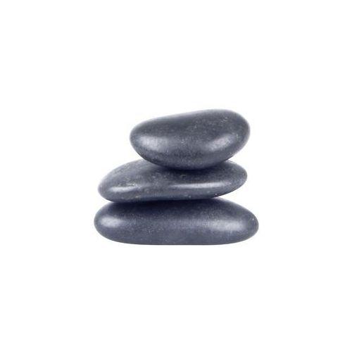 Kamienie bazaltowe do masażu z lawy wulkanicznej inSPORTline River Stone 2-4 cm - 3 szt.