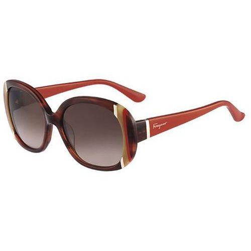 Okulary słoneczne sf 674s 217 marki Salvatore ferragamo