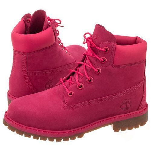 Trapery Timberland 6 In Premium WP Boot Rose Red A1ODE (TI53-c)