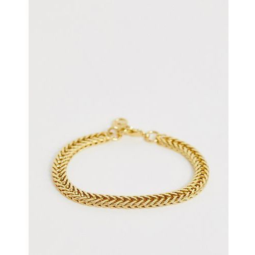 Seven london panther chain bracelet in gold - gold