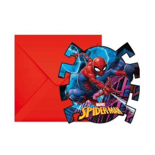 Zaproszenia urodzinowe Spiderman Team Up - 6 szt. (5201184894538)