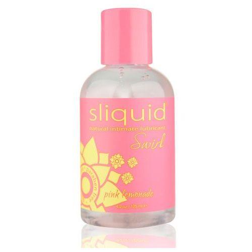 Smakowy środek nawilżający - naturals swirl lubricant 125 ml różowa lemoniada marki Sliquid
