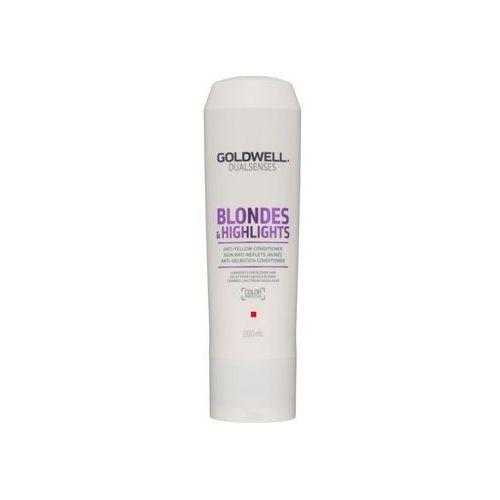 Goldwell  dualsenses blondes & highlights odżywka do blond włosów neutralizujący żółtawe odcienie (color protection) 200 ml (4021609061199)