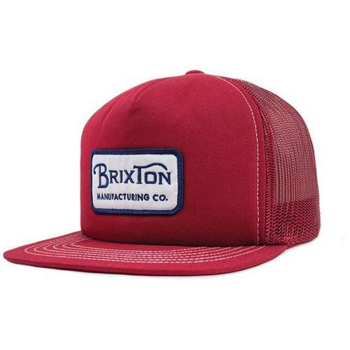 czapka z daszkiem BRIXTON - Grade Mesh Cap White/Navy/Burgundy (WHNVB) rozmiar: OS