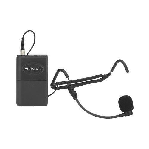 Monacor Mikrofon bezprzewodowy nagłowny z nadajnikiem txs-820sx