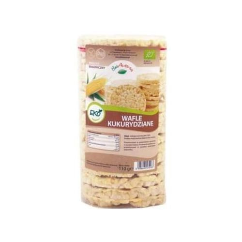 110g wafle kukurydziane bez soli bio marki Bioavena
