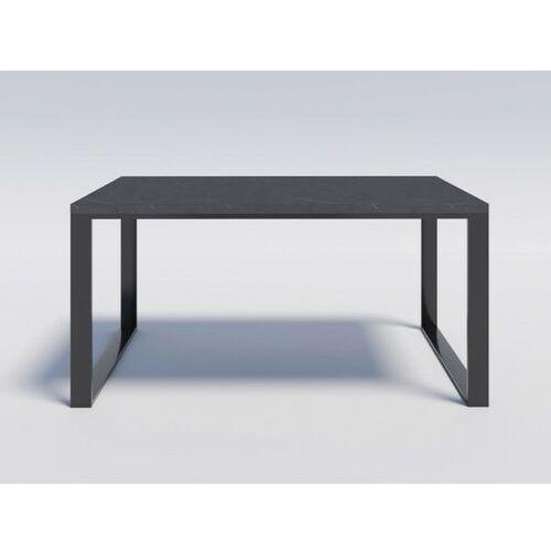 Solidny i elegancki stół modern loft reno 180/90 efekt kamienny marki Reqube