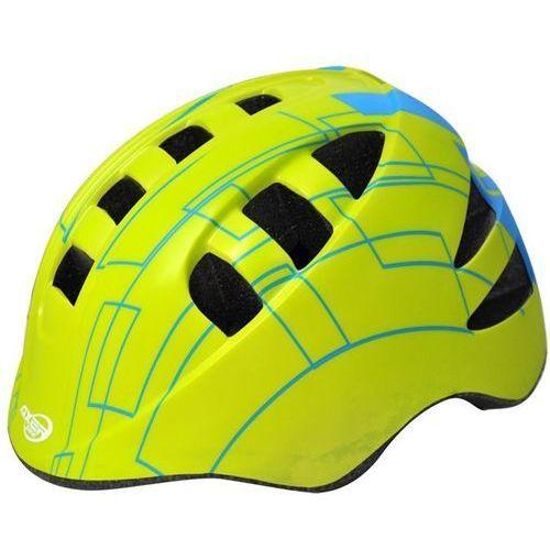 Kask rowerowy axer sport marcel żółty (rozmiar s) marki Axer bike