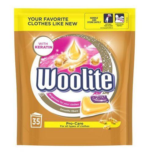 Woolite pro-care kapsułki do prania 770 g (35 x 22 g) (5900627076981)