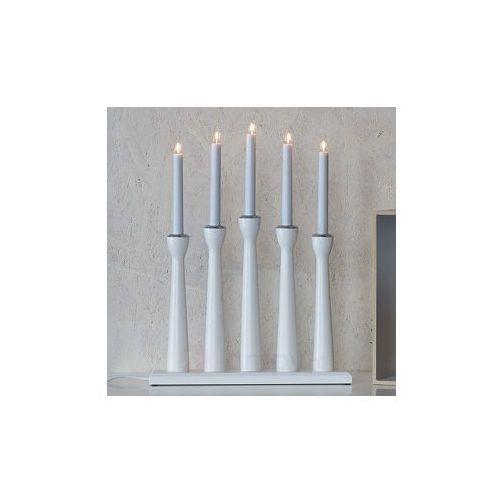 Markslöjd Piękny 5-punktowy świecznik maseskär 49 cm (7330024523579)