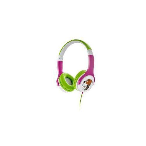 Słuchawki GoGEN Maxipes Fík MAXISLECHY (MAXISLECHY G) Zielona/Różowa