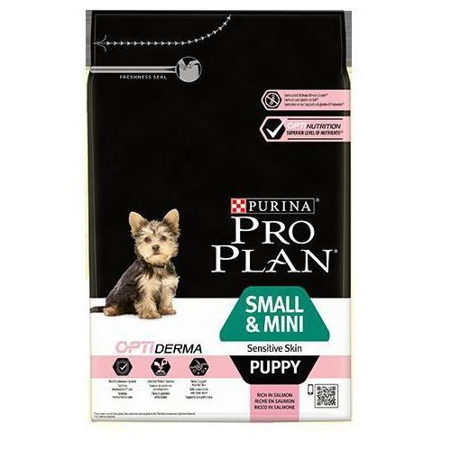 Purina Pro Plan Dog small & mini Puppy Sensitive Skin - 3kg