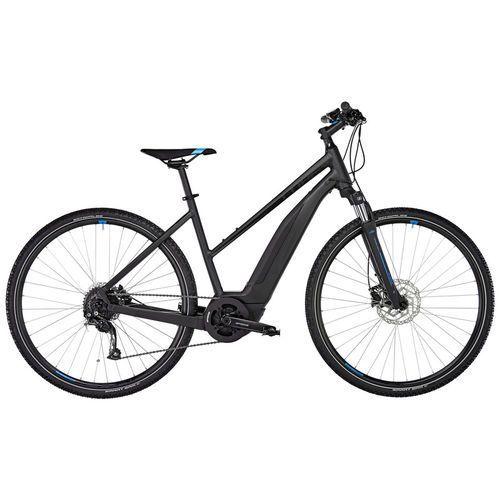 """Cube cross hybrid one 500 rower elektryczny crossowy trapez czarny 54cm (28"""") 2018 rowery elektryczne (4054571048493)"""