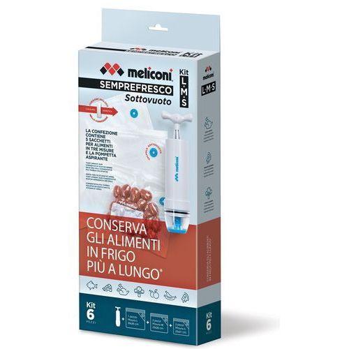 Meliconi Woreczki próżniowe semprefresco s (6 sztuk) (8006023266944)